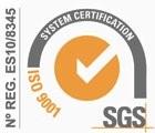 Certificado SGS Dagasistemas