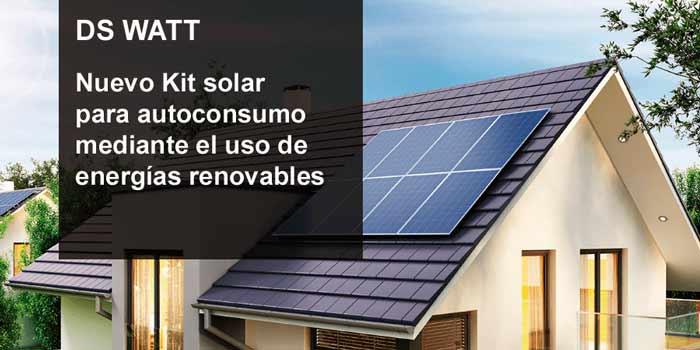 Domusa Teknik creó nueva gama de kist solares para el autoconsumo