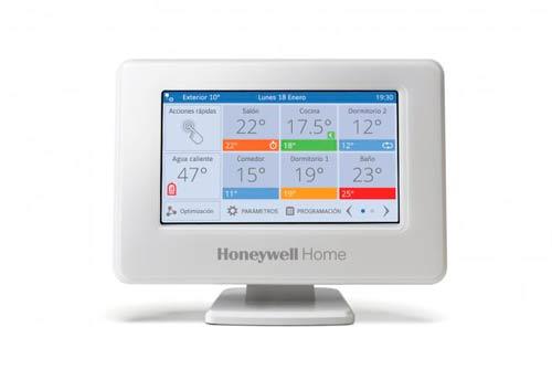 Sistema de zonificación Honeywell Home evohome tiene mejores innovaciones