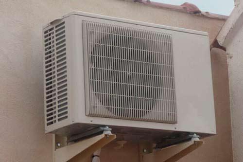 ¿Cuál es el mejor lugar para instalar la unidad exterior del aire acondicionado split?